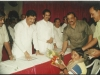 Harsh with Pramod Mahajan, Nitin Gadkari and Uddhav Thackrey