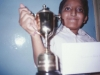 Harsh Pande winner Bournvita Quiz Contest, Sept 2000